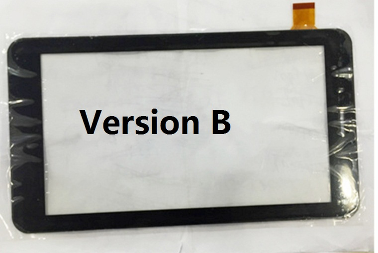 Version B Touch screen Digitizer 7 oysters 7x 3g Tablet Outer Touch panel Glass Sensor replacement Free Shipping free film new touch screen digitizer 7 inch oysters t72 3g tablet outer panel glass sensor replacement wjhb
