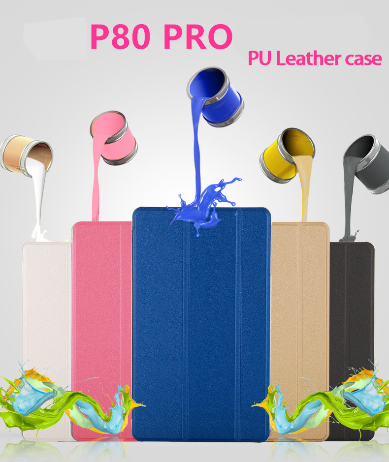 Newest For 2018 Teclast P80 Pro Ultra Slim Case 8Tablet PC Fashion Case Teclast P80 Pro Tablet PC Protective Cover mingshore for teclast x80 hd 8 0 silicone soft case rugged shockproof kids cover for teclast x80 plus x80 pro p80 tablet