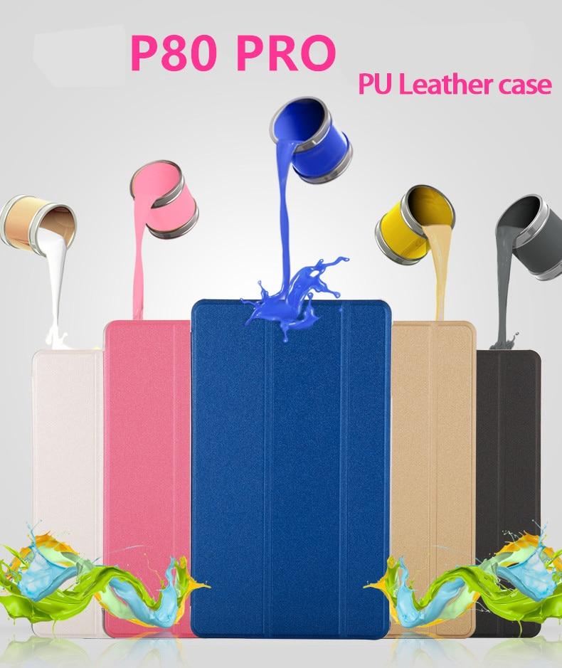 Newest For 2018 Teclast P80 Pro Ultra Slim Case 8Tablet PC Fashion Case Teclast P80 Pro Tablet PC Protective Cover