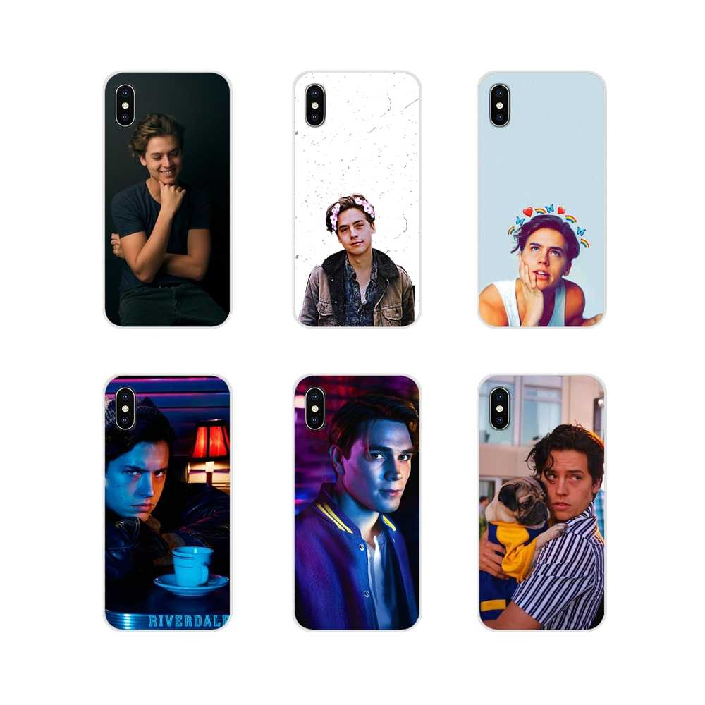 Soft TPU Covers For Apple iPhone X XR XS MAX 4 4S 5 5S 5C SE 6 6S 7 8 Plus ipod touch 5 6 American TV Cole Sprouse Colorful Cute