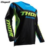 Clingwell Men S Downhill Motorcycle Jerseys Long Sleeve Moto XC Motorcycle GP Mountain Bike Motocross Jersey