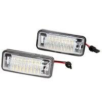 2pcs Lot 12V Car LED Number Plate Light 24 SMD Super White Lamp For Toyota 86