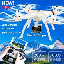 HQ899 2.4G 4CH RC Quadcopter Drone Helicopter With 5.0MP Wifi FPV Camera Can lift Gropp Long Distance Flying vs U818S RC DRONE