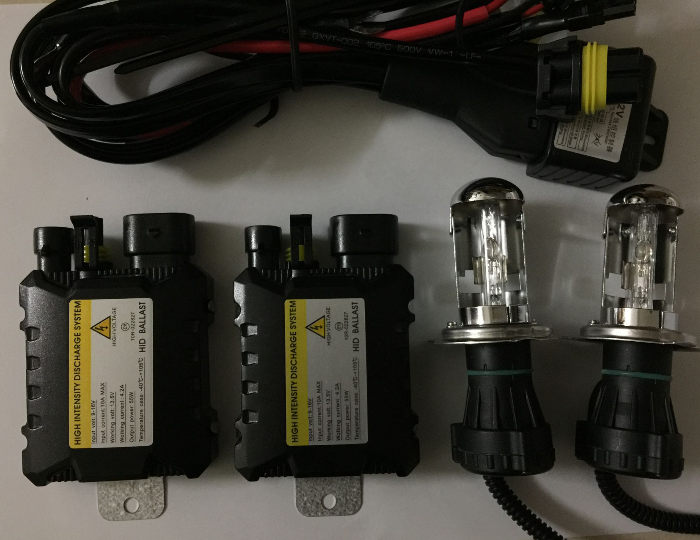55W Xenon H4 hid kit h4 bixenon hi lo beam H4-3 h4 bi xenon h4 4300K 5000K 6000k 8000k h13 9004 9007 car headlight auto headlamp купить