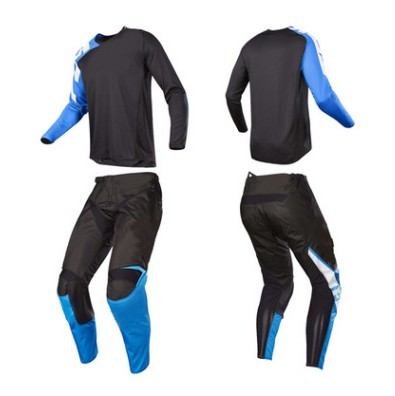 Riding Knight Racing Motocross Mountain Bike Set T-Shirt Pants Competition Wearable Breathable