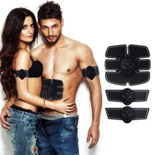 Exercise Massager EMS Electric Pulse Abdominal Electrical Muscle Stimulator Trainer lose weight Fitness Men women can use A793