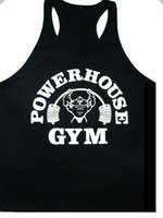 Power House 2015 Drop shipping workout Singlet Y Back Singlet tank top for men