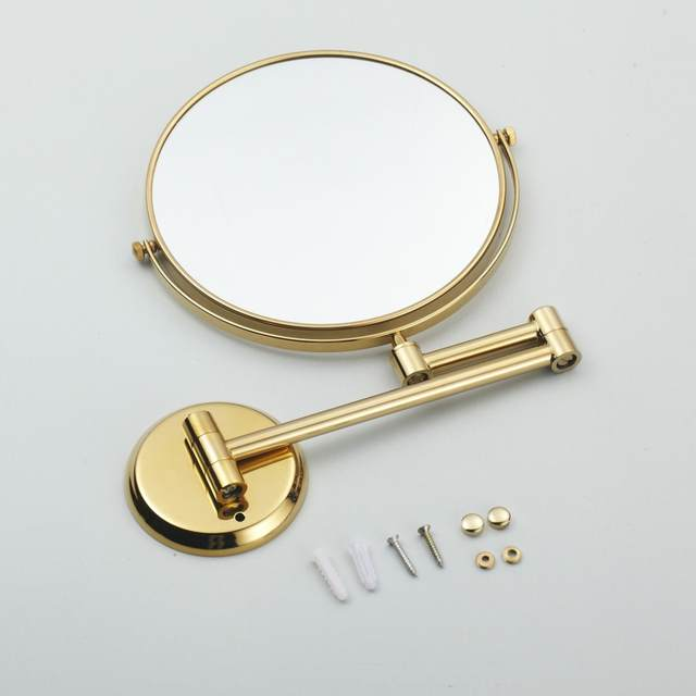 Online Shop Hotel Bathroom Accessory Luxury Gold Color Brass 8 Wall