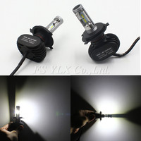 10sets H4 Car Led Headlight High Power Auto H4 Hi Lo HB2 9003 High Low 50w