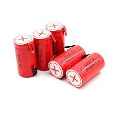 Nieuwe Sc Batterij Subc Batterij Oplaadbare Nicd Batterij Vervanging 1.2 V Accu 1800 Mah Power Bank
