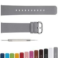 Watchbands Genuine Leather Strap Watch Accessories 16mm 18mm 20mm 22mm 24mm Men Women Watch Band GIFT