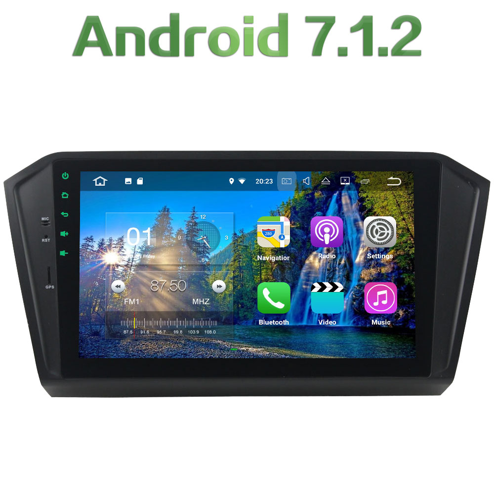 2GB RAM 16GB ROM Android 7 1 2 Quad Core 4G WIFI 12V Car Radio Player