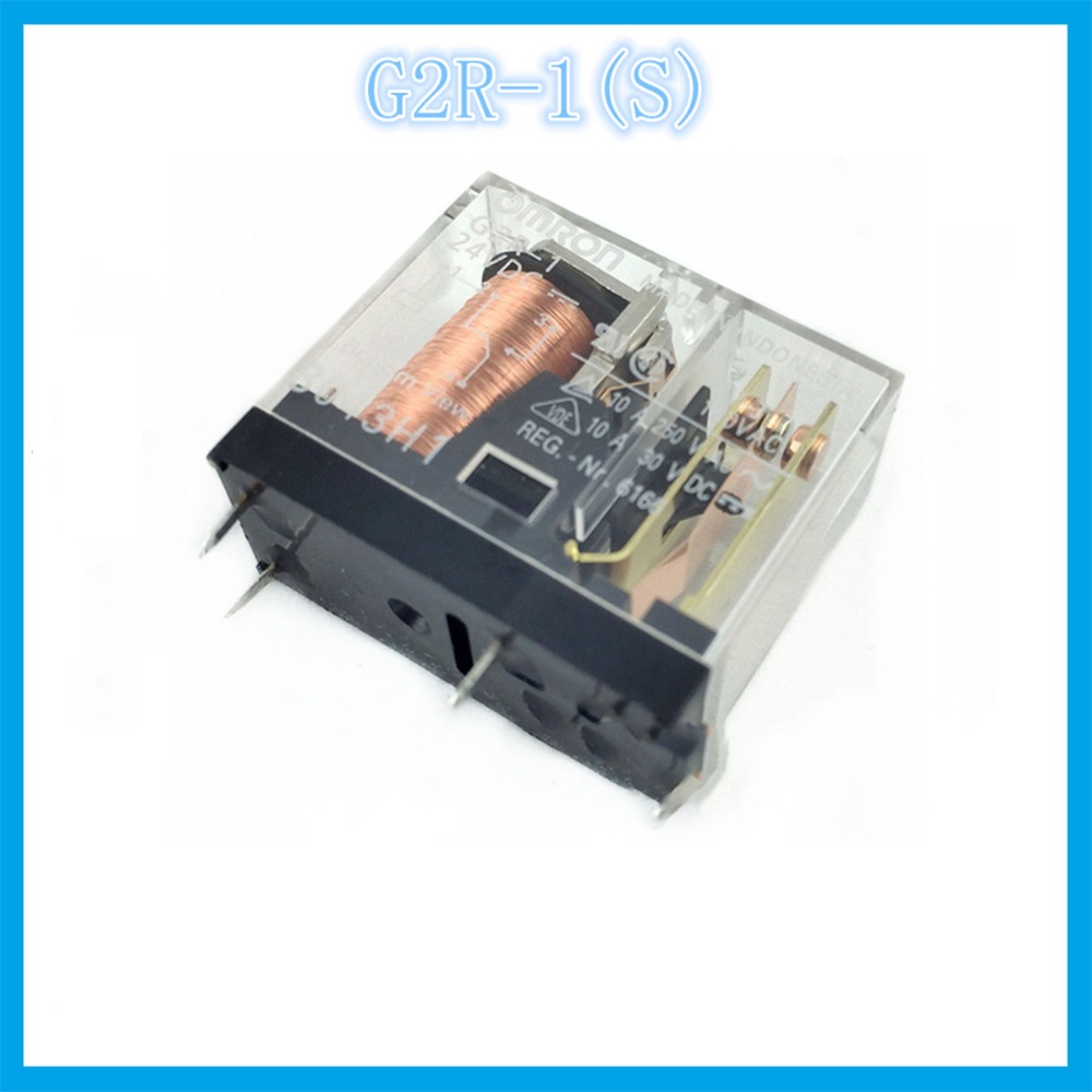 G2r 1 12vdc 24vdc Dc12v Dc24v 10a Omron Relay Four Open Ormron Solid State Wiring Diagram Closed 5 Needle Electronic Component Relays In From Home Improvement