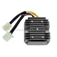 New GY6 50 150cc 152QMI 157QMJ Scooter Voltage Regulator Rectifier 6 Wires Chinese Moped SUNL JCL