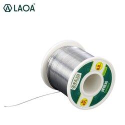 LAOA 45% القصدير المحتوى 0.8-2.3 مللي متر الصنوبري لحام الأسلاك ، 380g أسلاك اللحام ، سبلاش برهان لحام Asistant القصدير الأسلاك