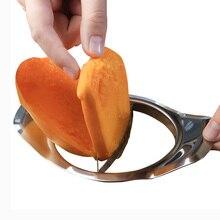 Манго Питтер слайсер удалить манго фрукты core инструмент из нержавеющей стали кухонные гаджеты помощь продукт нож для манго резак сплиттер