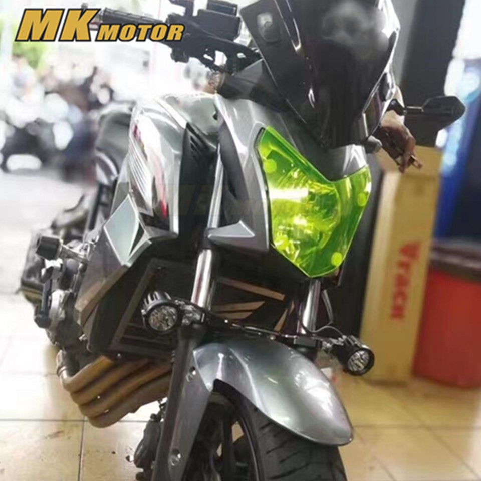 CBR 650F Motorbikes Parts For HONDA CBR650F CB 650F 2014-2017 Acrylic Headlight Protector Cover Screen Lens waase radiator protective cover grill guard grille protector for honda cbr650f cb650f cbr cb 650 f 2014 2015 2016 2017
