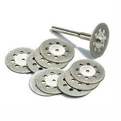 10pcs 22mm diamond cutting discs tool for cutting stone cut disc abrasives cutting dremel rotary tool.jpg 250x250