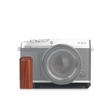 Вертикальный кронштейн для камеры wood Pro L, штатив с быстроразъемной пластиной, рукоятка держатель для Fujifilm Fuji, XE3, Arca Swiss, для Fujifilm, Fuji, X E3