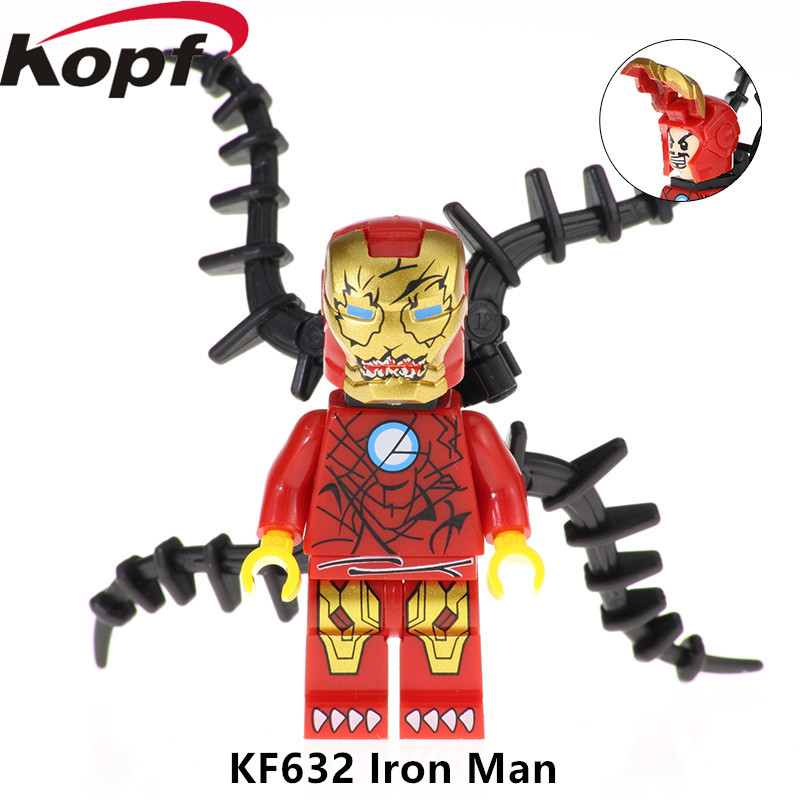 Alert 20pcs Legoed Minifigured Spider-man Super Heroes Building Blocks Bricks Model Figures Best Gift For Children Kf638 Blocks Toys & Hobbies