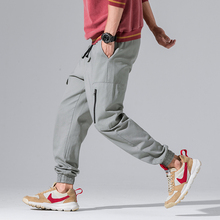 2018 New Autumn Summer Track Pants Men Fashion Streetwear Mens Joggers Pants 2018 Fashion Casual Harem Pants Men