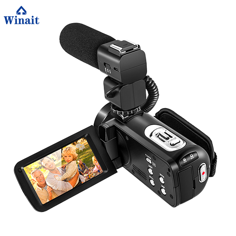 Professional Digital Camera HDV-Z80 Max 24MP 10x Optical Zoom Photo Camera 3.0