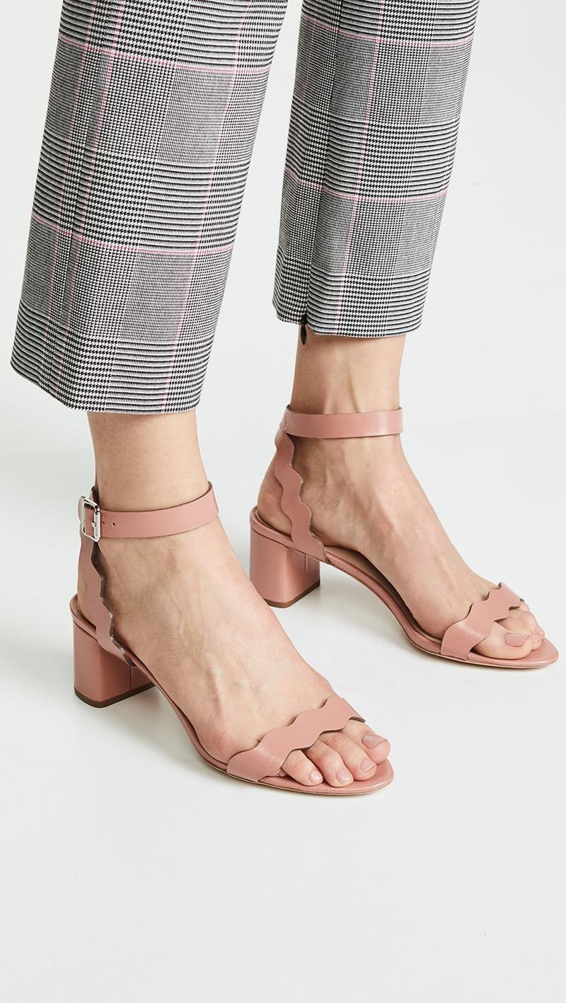 Negro Tacón Clásicos Casual Sólido Sandalias Zapatos Mujer Señora Tobillo  Ty01 ty03 Rosa abrigo Sexy ty02 Rebaño ... 55f0ae0dbad2