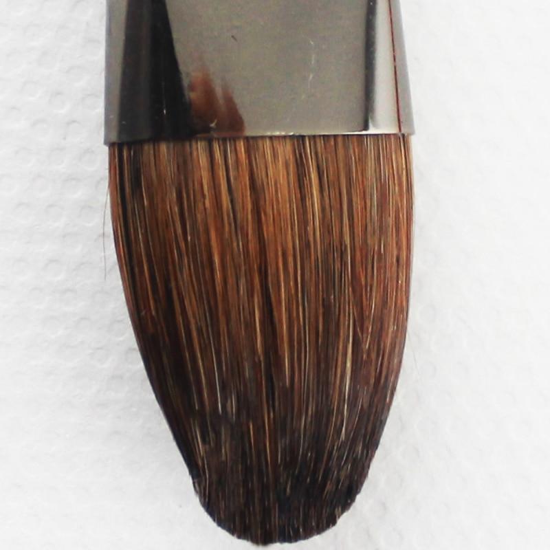 6 stà cke weasel haar pinsel gouache pinsel aquarell paintin pinsel