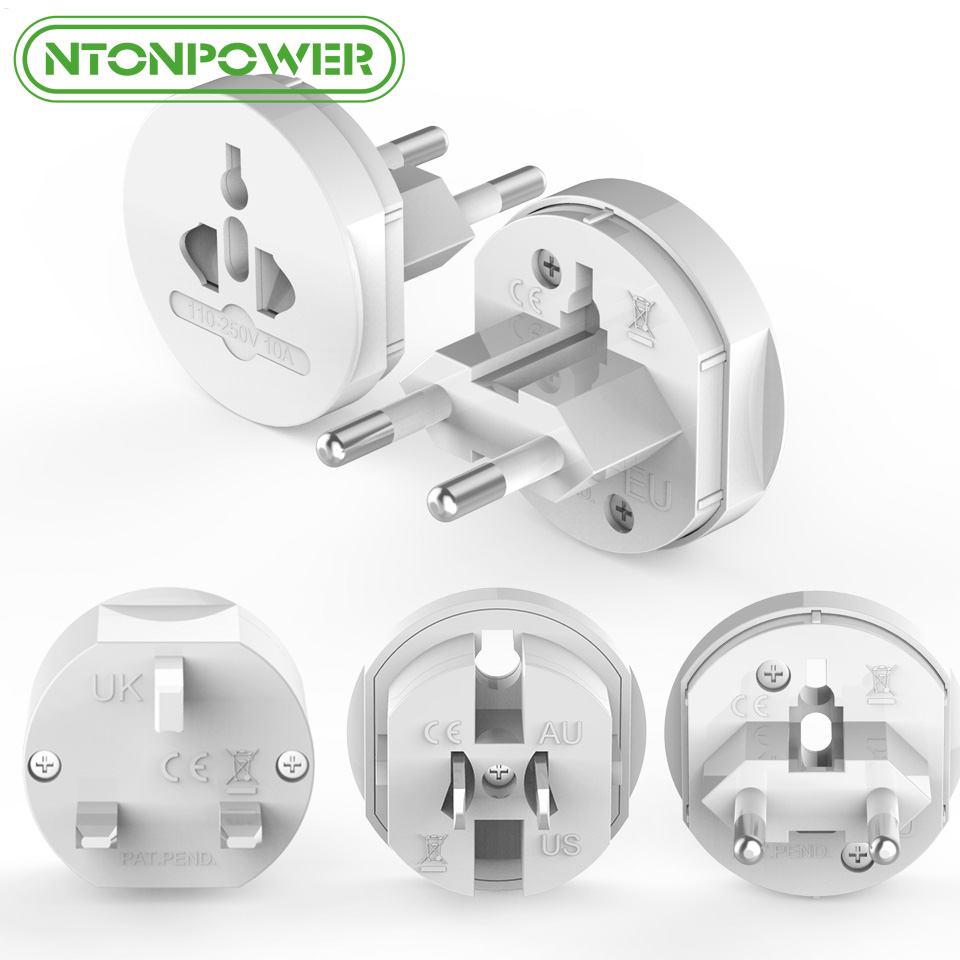 Ntonpower Uta Universal Electrical Plug Adapter Travel