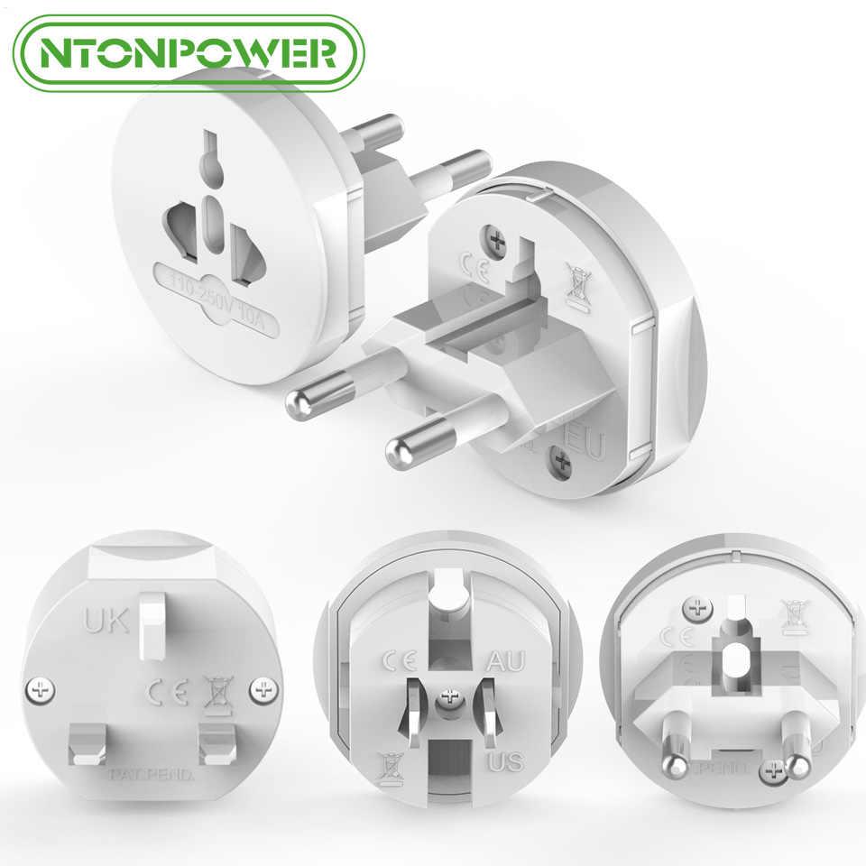 NTONPOWER UTA uniwersalna wtyczka elektryczna Adapter podróży gniazdo zasilania konwerter wylot wszystko w jednym na całym świecie skorzystaj z usa/UK/ ue/AU