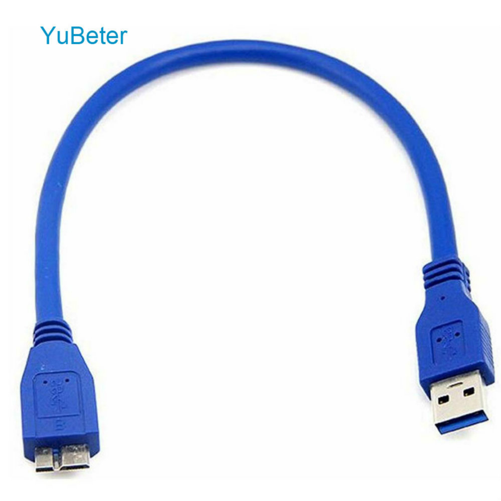 YuBeter USB 3.0 Type A to Micro B Cable USB 3.0 Super Speed Data Sync Cables Cord for External Hard Drive Disk HDD Data Cables    - AliExpress