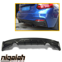 Carbon fiber Rear Bumper Diffuser Lip Spoiler Protector Guard for BMW 2 Series F22 M Sport M Tech 235i 22i 220i 2013 2018 E type