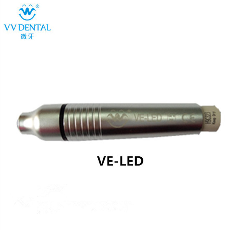 VE-LED metal handpiece dental instrument for EMS/Woodpecker ultrasonic scaler teeth cleaning  dental equipment ve b43 cv