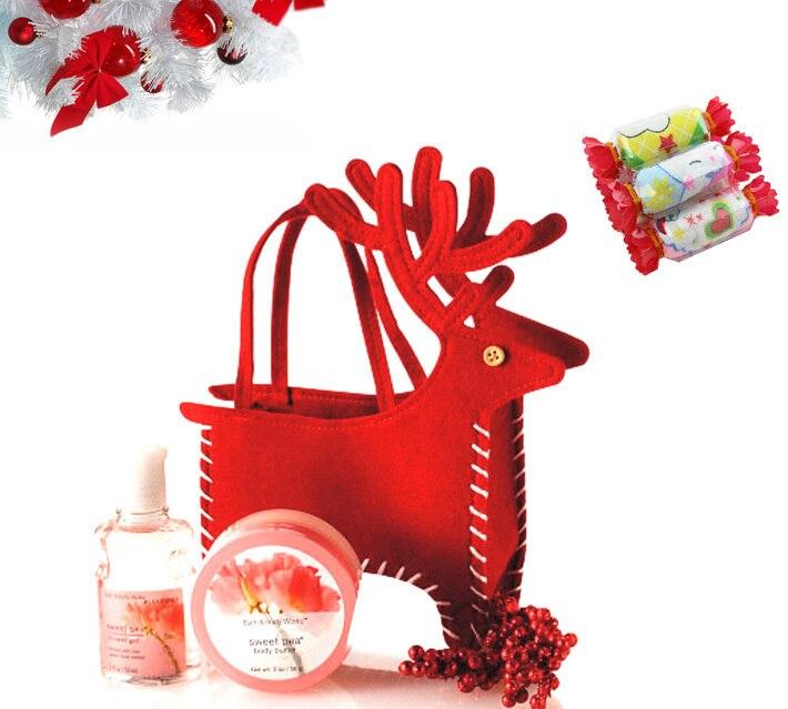 Christmas Decoration Wedding Gift : decoration Christmas deer Style gift bag Cosmetic Bags Wedding ...