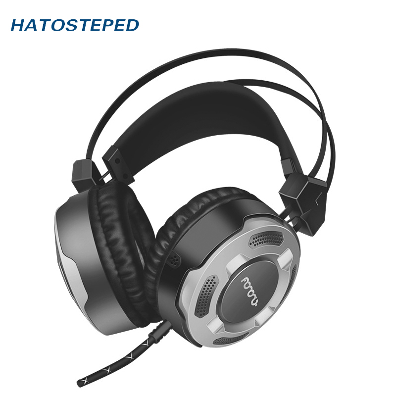 7.1 channel Wired Gaming Headset Deep Bass Game Earphone Computer headphones with microphone led light headphones for computer