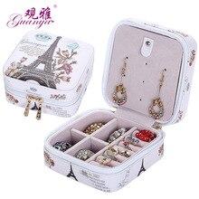 ФОТО 2015 new high grade fashion printed jewelry box jewelry casket  7 color for you choose love gift choice
