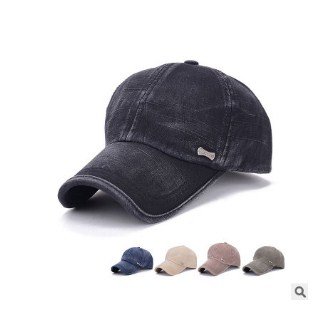 New version of washed baseball caps Men s bronze standard cotton visor  outdoor spring hat manufacturers-in Baseball Caps from Apparel Accessories  on ... 19dfa5331