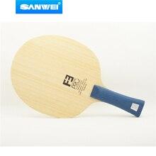 Sanwei F3 PRO (5 + 2 ALC, Премиум Ayous поверхности, OFF + +) арилат углеродный настольный теннис лезвие пинг-понг ракетка бита