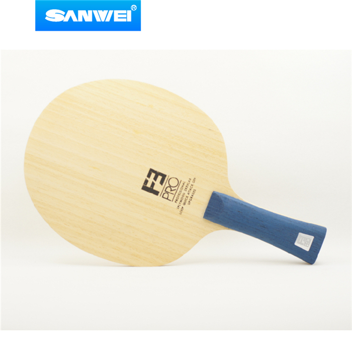 Sanwei F3 PRO (5 + 2 ALC, Premium Ayous Oberfläche, OFF + +) arylate Carbon Tischtennis-blatt Ping Pong Schläger Bat