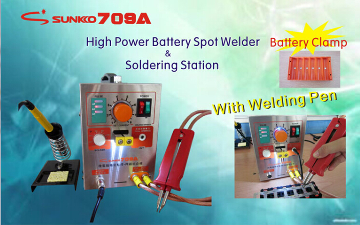 Battery Micro Pulse Spot Welder Welding Equipment Machine & Solding Machine Solder Two in One