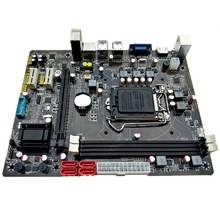 H110 Lga1151 Motherboard 16Gb Ddr3 Ram Sata 3.0 Usb 3.0 For Core I3/I5/I7 Cpu Desktop M-Atx Mainboard Gigabit Lan h55 motherboard new lga1156 ddr3 supports i3 i5 i7 cpu motherboard pci express usb ports mainboard main board for computer