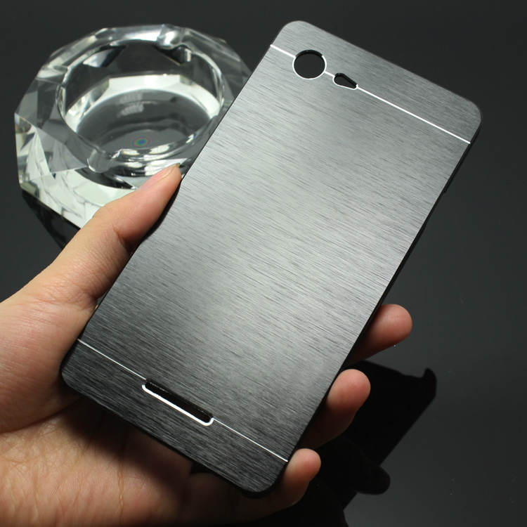 best service a7023 78fc5 US $3.98 |2015 New Luxury Metal Brush Hard Case for SONY XPERIA E3 D2203  D2206 Back Cover Aluminum Back Case Capa Celular on Aliexpress.com |  Alibaba ...