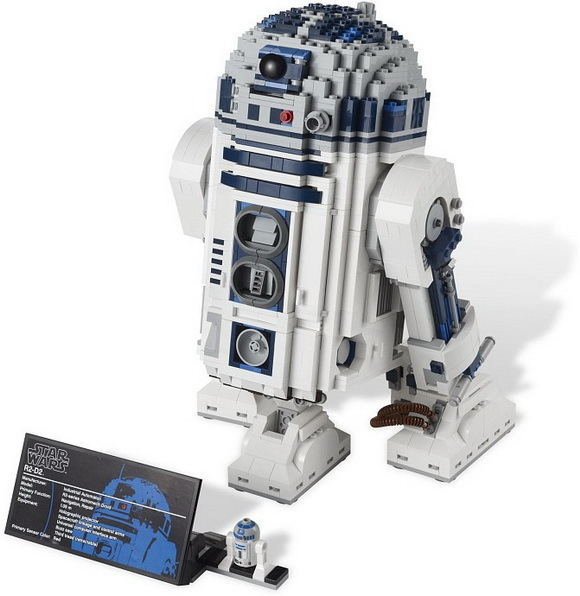 Lepin 05043 Star series Wars R2-D2 Robot Out Print Building Blocks Bricks Educational Toys Compatible With lego 10225