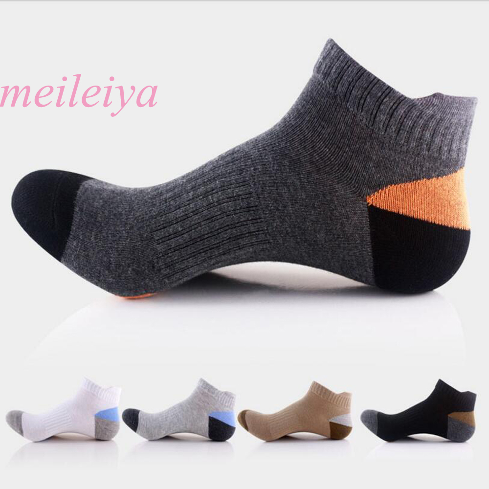 MEI LEI YA 20 Pairs / Bag High Quality Men's Socks New Sale Hot Men's Casual Socks Unique Style Socks 5 Colors