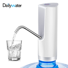 Universal USB Charging Portable Mini Dispensador Automatic Electric Drinking Water Pump Dispenser Fits Most 2-5/6 Gallon Bottles