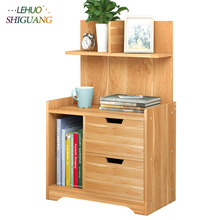 Nightstand Wooden Assembly Bedside table With drawer end table home bedroom Furniture Bedside organizer storage cabinet