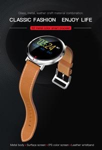 Image 5 - معدل ضربات القلب الرياضة ساعة ذكية أندرويد هواتف الايزو المحمولة بلوتوث ساعة ذكية الرجال الرقمية ضغط الدم ساعة ذكية es E28