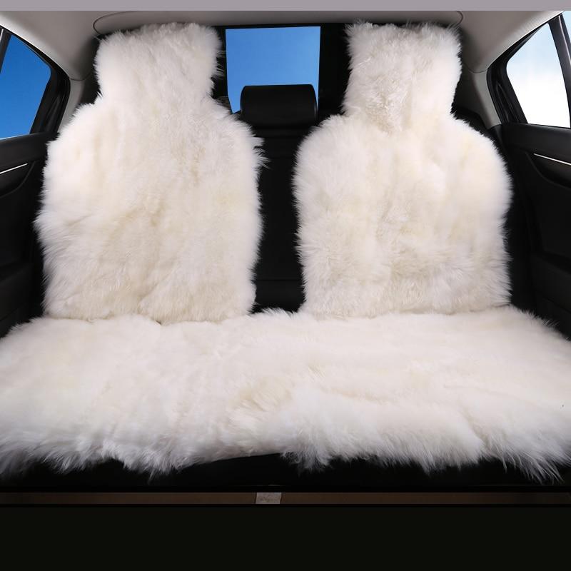 カーインテリアアクセサリー車のシートはクッションスタイリング毛皮のカバー 6 色バックカバー 2015 D001 B  グループ上の 自動車 &バイク からの 自動車シートカバー の中 1