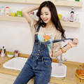 Denim Jumpsuit Women 2017 Suspender Button Trousers Fashion Jeans Jumpsuits Casual Overalls Pants Women Bodysuit Jeans Jumpsuit