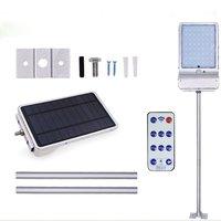 56LED лампы на солнечных батареях человека индукции открытый непромокаемые уличные лампа настенная лампа Инфракрасный индукции и шесть режи...